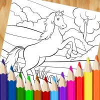 Cute Cartoon Coloring Pages Mod APK